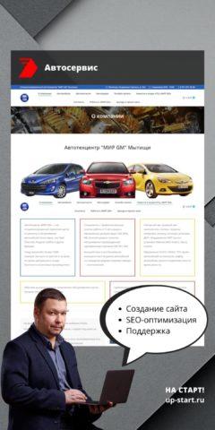 Примеры сайтов визиток